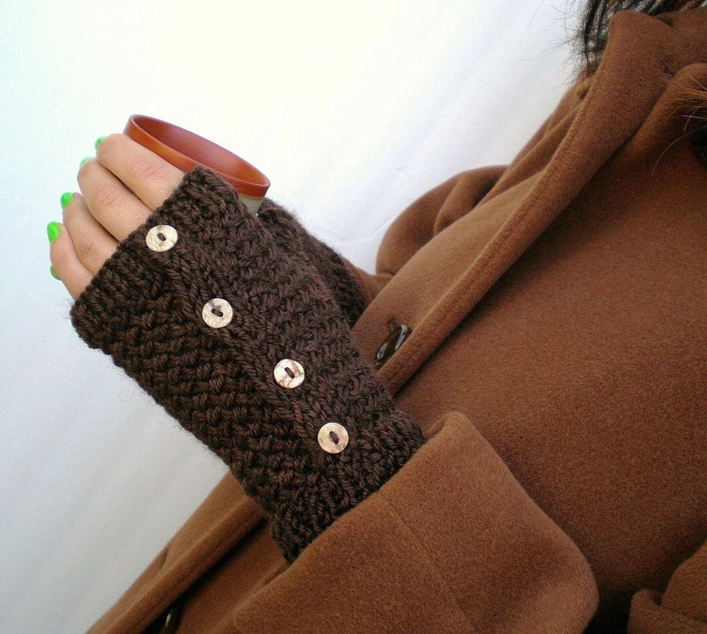 Перчатки без пальцев (83 фото женские вязаные черные)